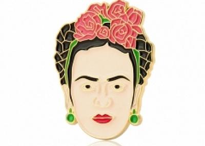 Frida Self-Portrait Enamel Pin