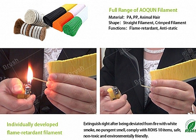 """AOQUN Will Tell You What Are The Benefits Of 9"""" Grinder Dust Shroud Brush"""