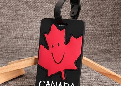 Canada Maple Leaf PVC Luggage Tag