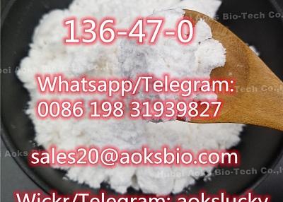 High Quality CAS 136-47-0 Tetracaine Hydrochloride HCl Tetracaine China Supplier