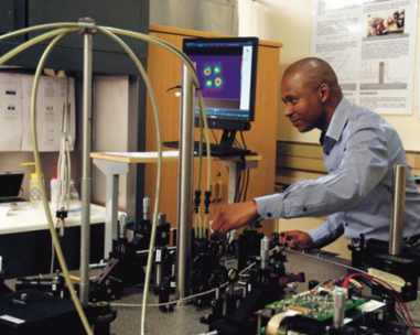 Digital Laser Designed and Built in Africa
