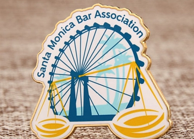 Santa Monica Bar Association Shirt custom pins