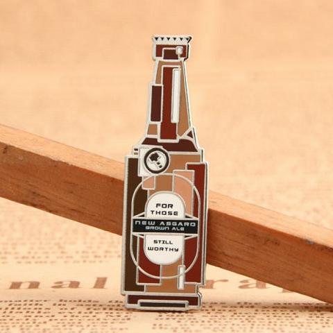 Custom Beer Enamel Pins | Hard Enamel Lapel Pins - EnamelPins.com