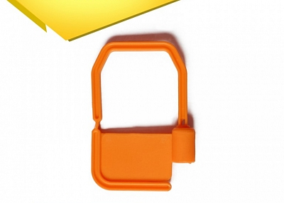 Plastic Padlock Security Seal with Metal Wire