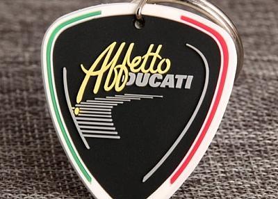 Affetto Ducati PVC Keychain