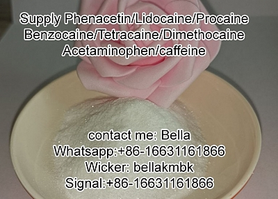 Phenacetin/Lidocaine/Procaine/Benzocaine/Tetracaine/Dimethocaine with factory price
