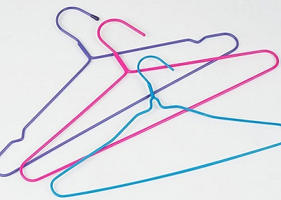 PE and Polyester Coated Hanger