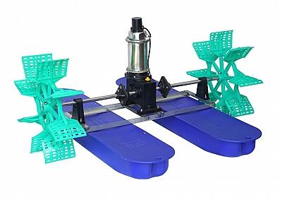 YC-1.5 High efficiency paddle wheel aerator (Water cooling)