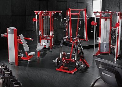 Fitness Equipment Powder Coating