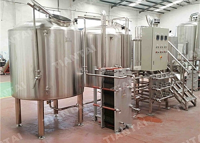 5 Bbl Electric Brewhouse With CE