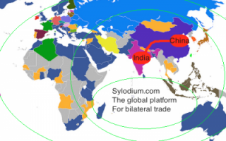 India and China (Sylodium, import export business)