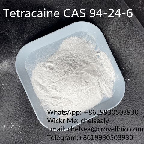 Find Tetracaine CAS 94-24-6 supplier/factory in china.WhatsApp:+8619930503930
