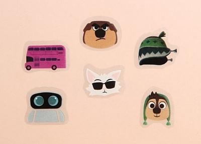 Cheap Stickers | Cartoon Character Custom Sticker Sheets | GS-JJ.com ™