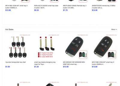 KAIGAO: Auto Keys exporter from China.
