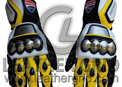 Ducati Motorbike Racing Leather Glove