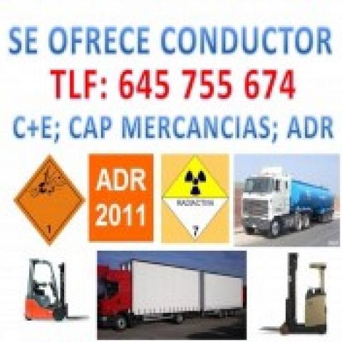 Driver C+E; Code 95, ADR 2011