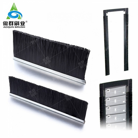 Cabinet Rubber Brush Type Cable Manager,Clip Where You Want - AOQUN