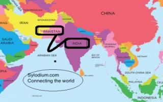 India - Pakistan (Sylodium, Free Import-Export directory)