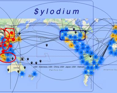 亚洲/太平洋地区的贸易与美国,取代了中国的贸易?