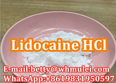 Cas:73-78-9 factory lidocaine hydrochloride,lidocaine hcl powder favorable price safe delivery