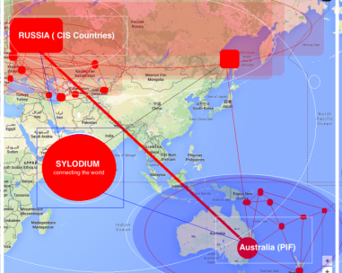 Russia –  Australian business (Sylodium, import export platform)