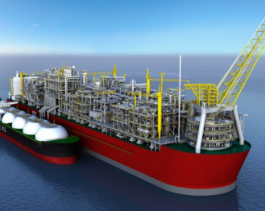 China finances big shipping LNG to Africa