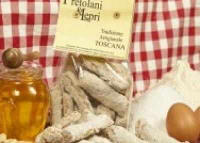 Italianas finas galletas hechas a mano - Toscana