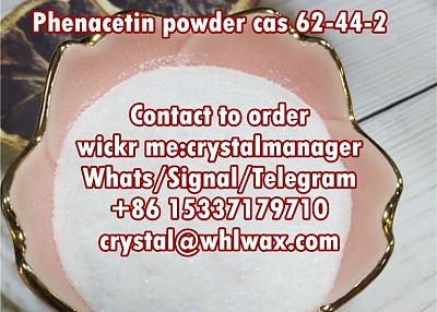 phenacetin powder cas 62-44-2 in stock