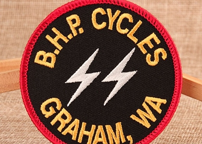 Patches | BHP Cycles Embroidered Patches | GS-JJ.com ™| 40% off