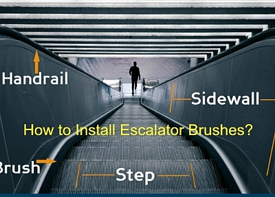 How to Install Automatic Escalator Safety Skirt Brush?