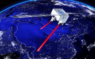 Chinese satellite relays a quantum signal (laser between cities)
