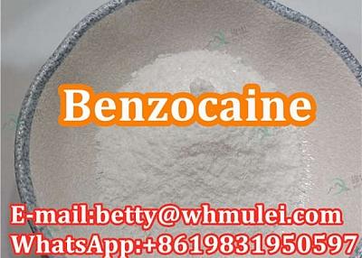 Cas:94-09-7 factory benzocaine,benzocaine powder favorable price safe delivery