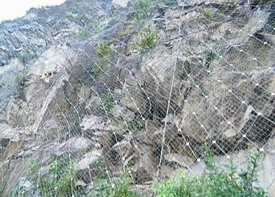 Active Rockfall Barrier System Prevents Rocks Falling Down