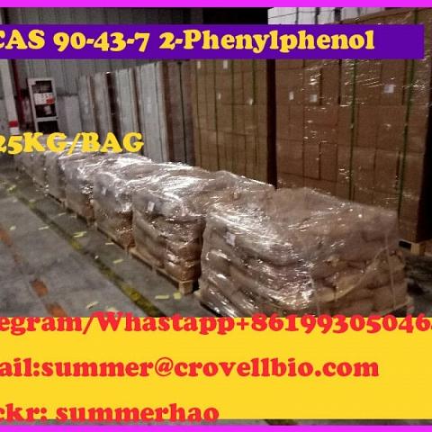 Manufacturer of O-Phenylphenol / 2-Phenylphenol summer@crovellbio.com