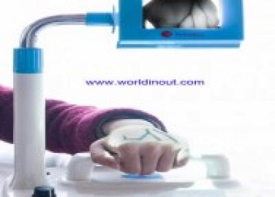 Patent portable vein displaying machine