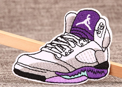 Gym Shoes Custom Made Patches