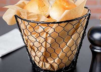 Chicken Wire Mesh Made Rigid Basket