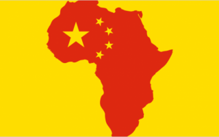 'Chinafrica' megatrend: China shipping hubs in Africa.