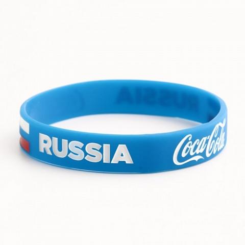 Coca cola and Russia wristbands