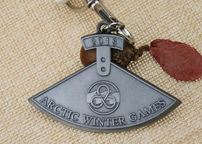Arctic Winter Games Antique Custom Medals