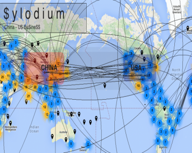使企业中国 - 美国(Sylodium信息,导入 - 出口)