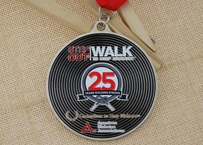Walk To Stop Diabetes Custom made medals