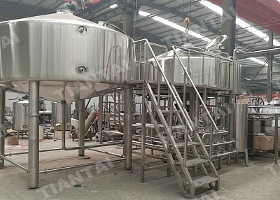 3bbl Electric Brewhouse For Sale