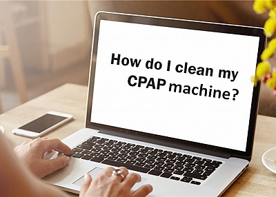 How to CPAP Machine with CPAP Humidifier Cleaning Brush?
