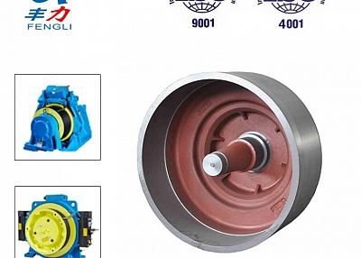 OEM Custom make Iron Casting Elevator Traction Hub