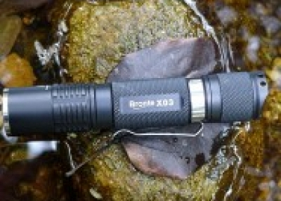 Perfect outdoor LED flashlight Bronte X03