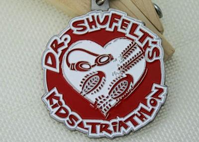 Kids Triathlon Custom soft enamel medals