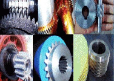 Fabricación de engranajes industriales.