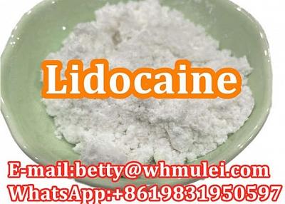 Cas:137-58-6 factory lidocaine,lidocaine powder favorable price safe delivery
