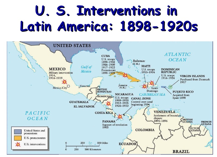 the causes of us intervention in nicaragua Nicaragua nicaragua, southern neighbor of honduras, experienced a revolution in 1909 the united states government hoped to advance the interests of american businessmen and supported the rebels against the reactionary government.